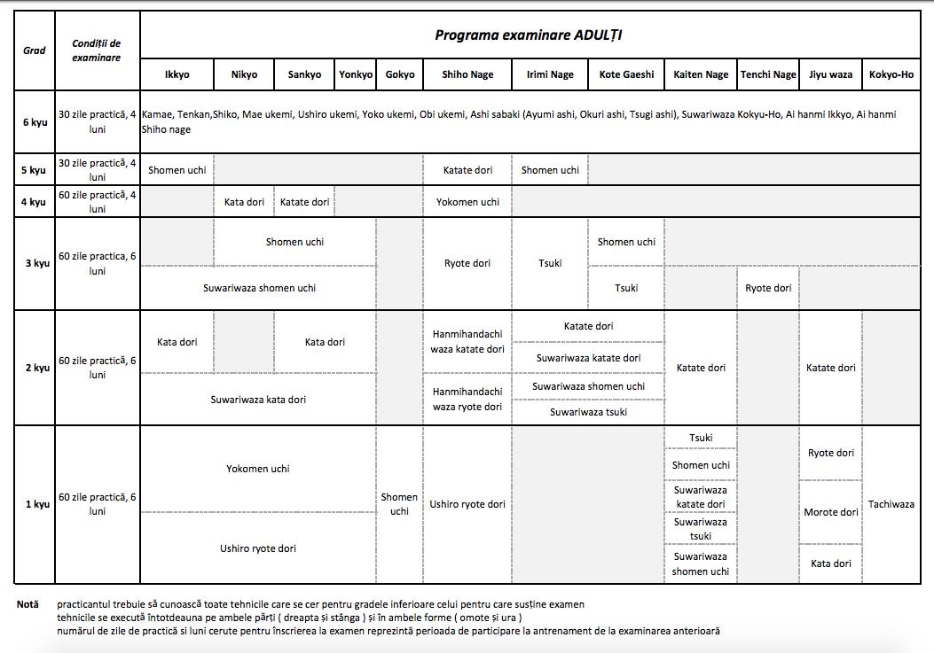 Programa Examinare Adulti