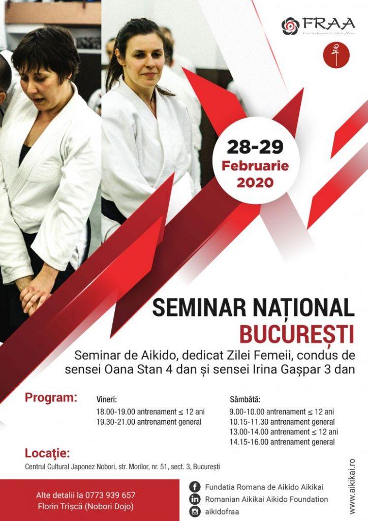 Seminar Aikido Oana Stan Irina Gaspar